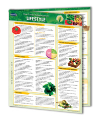 Raw Foods Quick Charts, Vegetarianism Reference Guides, Lifestyle